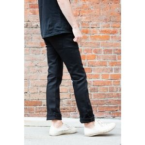 Naked and famous   skinny guy black power stretch